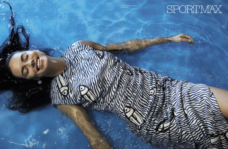 Adriana Lima for SportMax