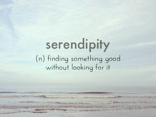 Serendipia/Serendipity
